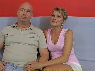 A Husband Takes His Milf Wife To A Porn Casting