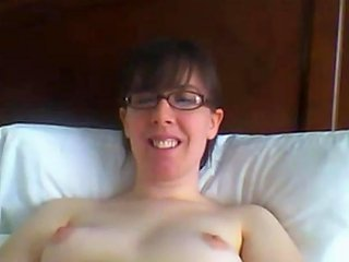 Hot Nerdy MILF Plays With Her Hairy Pussy Porn Videos