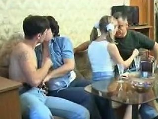Two Couples In Old On Young Swinger Porn Upornia Com