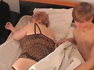 Wake Up His Aunty By Playing With Her Fat Pussy Porn Videos